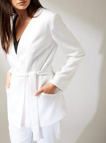Premium White Tailored Jacket