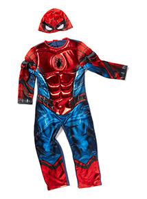 Red Disney Spiderman Costume (2-10 years)