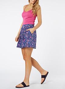 Paisley Short Culottes