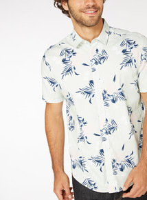 Regular Fit Floral Print Shirt