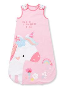 Pink Unicorn Sleep Bag (0-24 months)