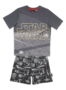 Black Disney Star Wars PJ Set (2 - 12 years)