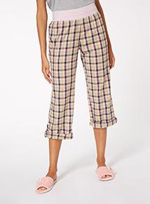 Highland Check Pyjama Trousers