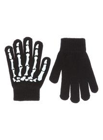 Kids Halloween Skeleton Gloves
