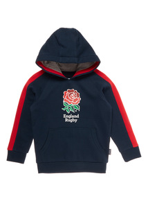 Boys Multicoloured England Rugby Hoodie (1 - 14 years)