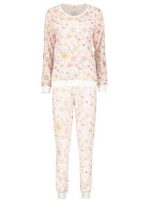 Christmas Snowflake Jersey Pyjamas