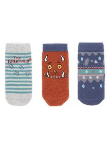 Gruffalo Socks 3 Pack