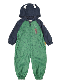 Boys Green Gruffalo Puddle Suit (9 months - 5 years)