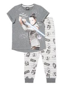 Grey Disney Star Wars Pyjama Set