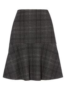 Check Flippy Skirt