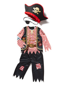Multicoloured Pirate Costume (2-10 years)