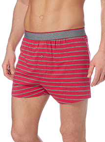 Multicoloured Stripe Jersey Boxers 3 Pack