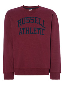 Online Exclusive Russell Athletic Burgundy Crew Jumper
