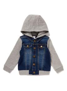 Denim Sweat Jacket (0 - 24 months)