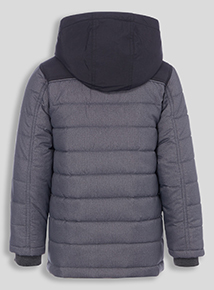 Boys Multicoloured Lightweight Quilted Puffa Jacket (3 - 14 Years)
