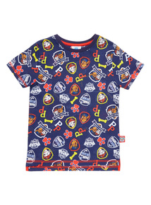 Blue Paw Patrol Short Sleeve T-Shirt (9 months - 6 years)