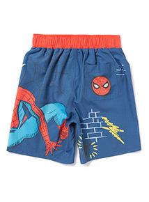 Multicoloured Spiderman Swim Shorts (3-12 years)