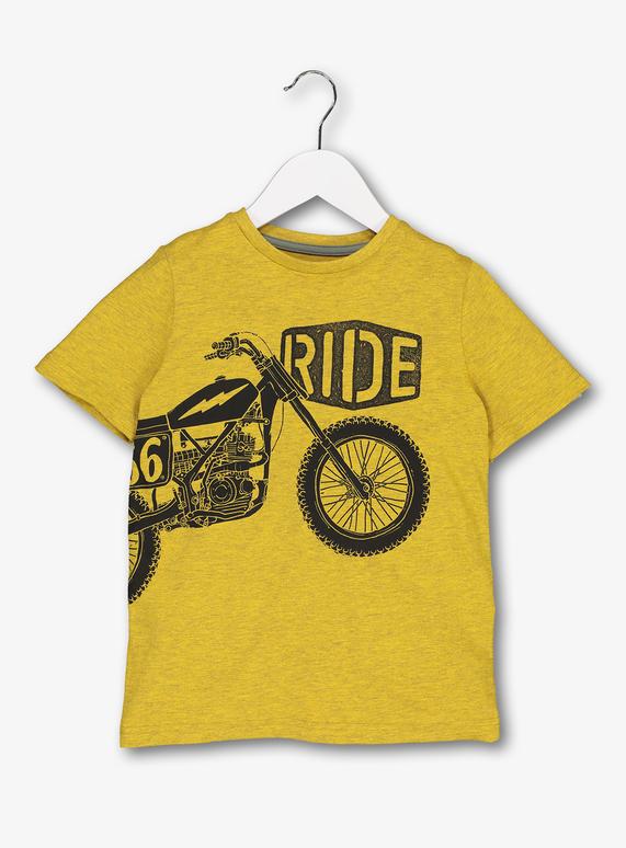 9da15041c Kids Yellow Bike Print T-Shirt (3-14 Years) | Tu clothing