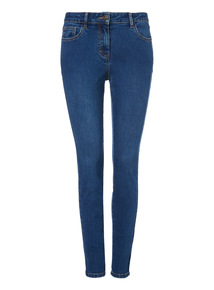 Skinny Dyed Jeans