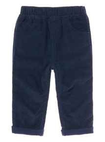 Navy Cord Trouser (0-24 months)