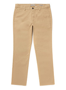 Stone Straight Fit Chinos With Stretch