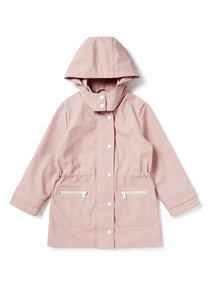 Pink Rain Mac (3-14 years)
