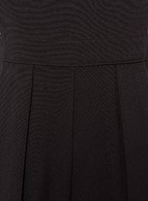 Girls Black School Playsuit (5-16 years)