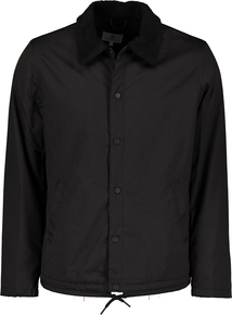 Black Borg Collar Coach Jacket