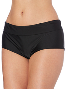 Black Roll Top Short