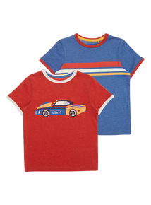 Boys Let's Go Tees 2 Pack (9 months - 6 years)