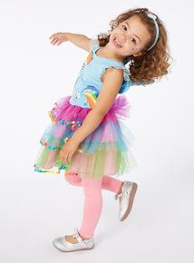Multicoloured My Little Pony Costume (2 - 10 years)