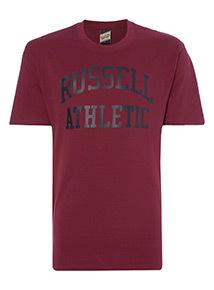 Online Exclusive Russell Athletic Burgundy Tee