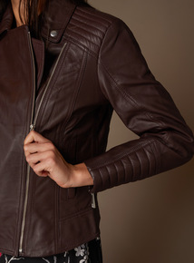 Online Exclusive Premium Leather Jacket
