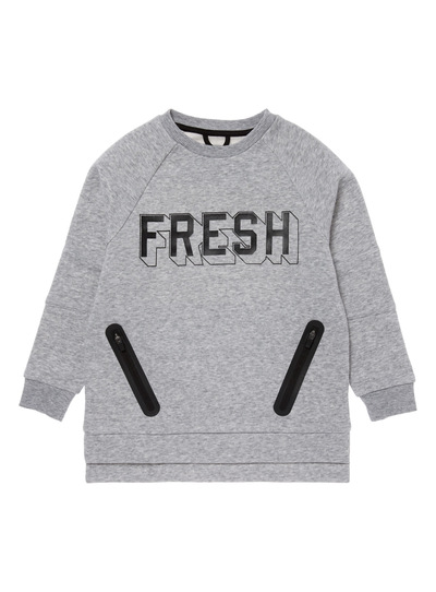 Grey Urban Ranger Sweater (3-14 years)