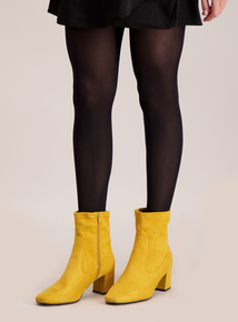 Mustard Ankle Boots