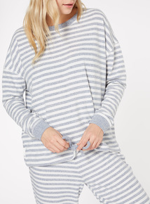 Stripe Long Sleeve Pyjama Top