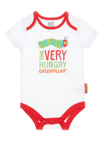 White The Very Hungry Caterpillar Bodysuit (0 - 12 months)