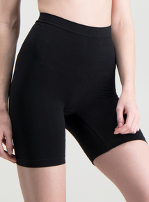 82e48902d68 Black   Nude Thigh Slimmer Knickers Firm Control 2 Pack