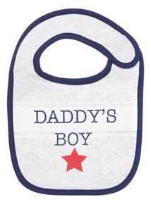 Multicoloured Daddy's Boy Bib