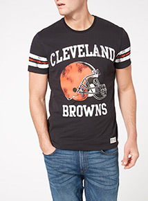 Black NFL Cleveland Browns Tee