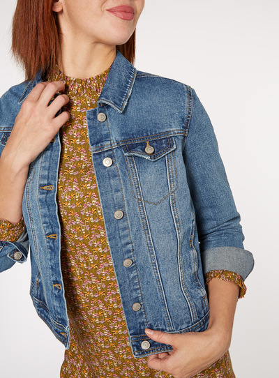 Mid Denim Jacket