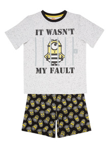 Multicoloured Minions PJ Set (2 - 9 years)