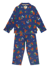 Navy Gruffalo Fleece Pyjama Set (1-6 years)