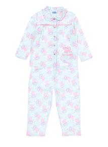 Green Peppa Pig Woven Pyjamas (1-5 years)