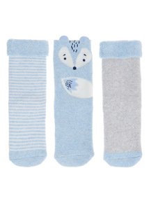 Fox Socks 3 Pack (1-24 months)