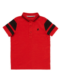 Red Polo Shirt (3 - 12 years)