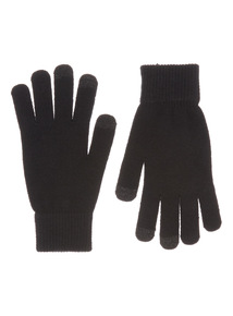 Black Smart Touch Glove
