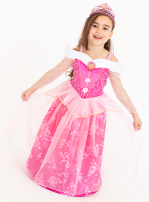 Disney Princess Sleeping Beauty Pink Costume (2-10 years)