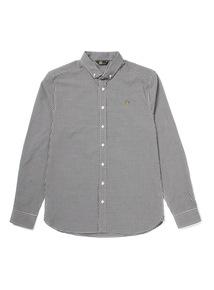 Admiral Black Gingham Shirt