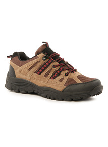 Brown Sole Comfort Hiker Shoe